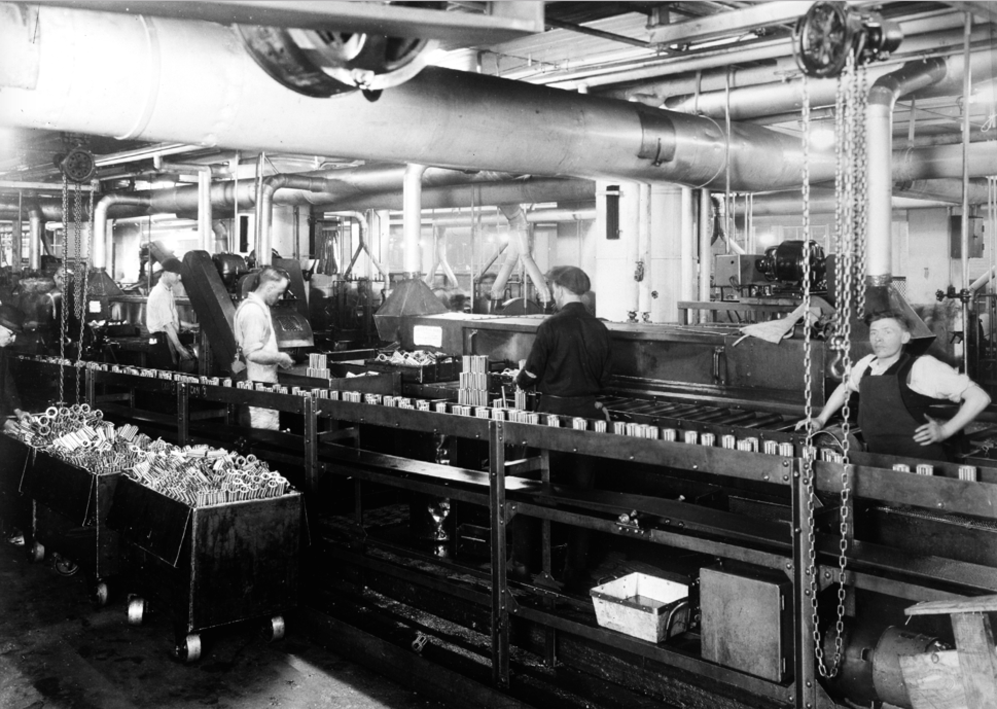 first ford model t assembly line